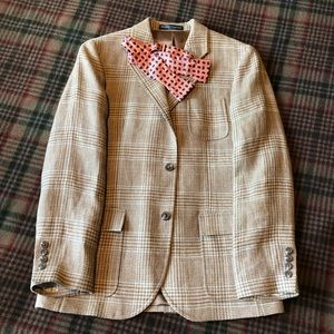 POLO Ralph Lauren Boy's Silk & Linen Sport Coat 16